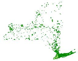 Census Places, New York, 2000 (FGDC metadata)
